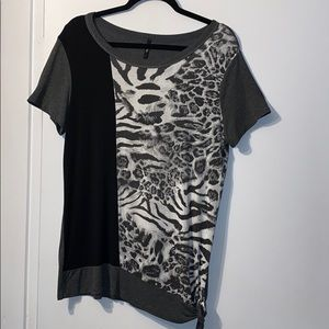 Edista Animal Print Shirt